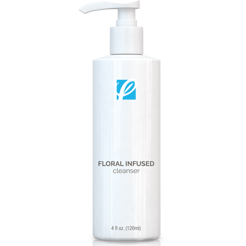 Private Label Floral Infused Cleanser