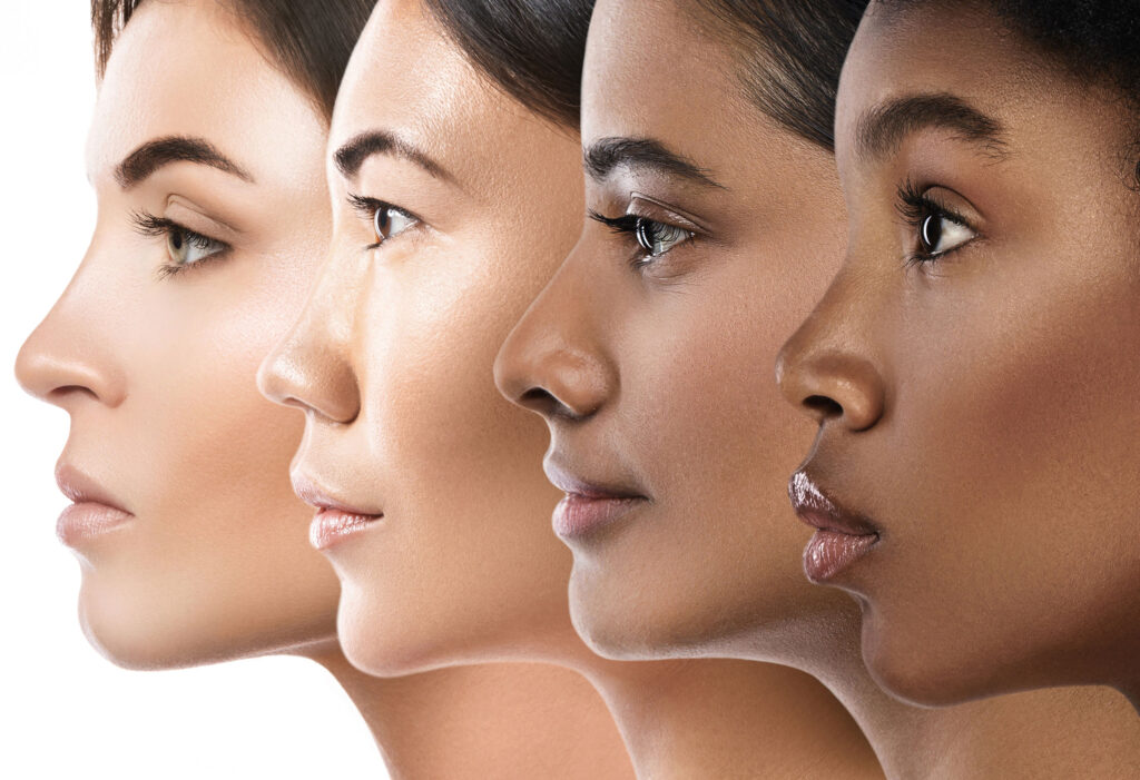 Cosmetic Solutions Work Place Diversity and Inclusion Image featuring a variety of models from different ethnic backgrounds and color
