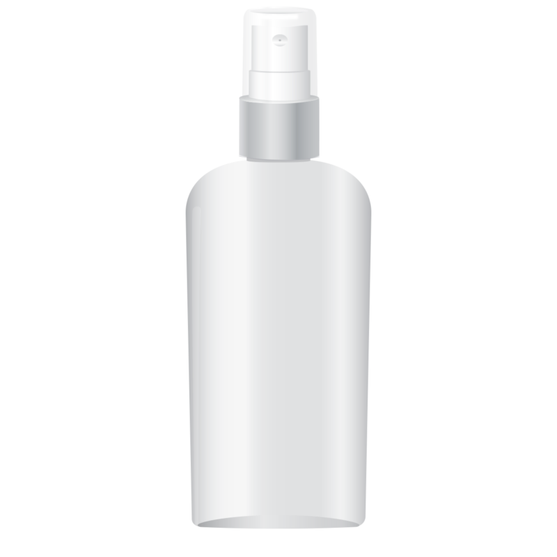Private Label Packaging Pet Oval Bottle