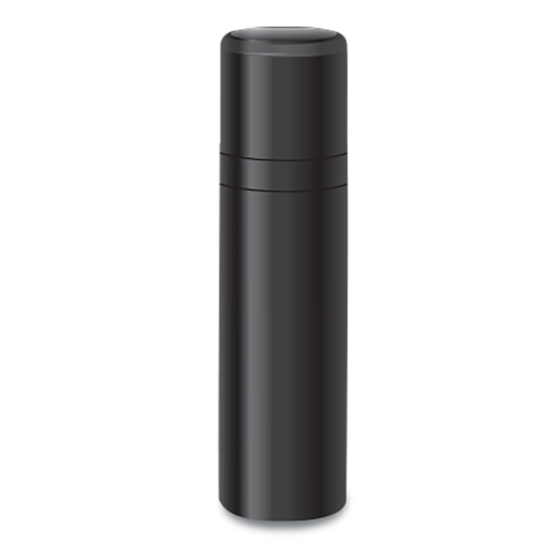 Private Label Packaging Black Bindi Airless Pump