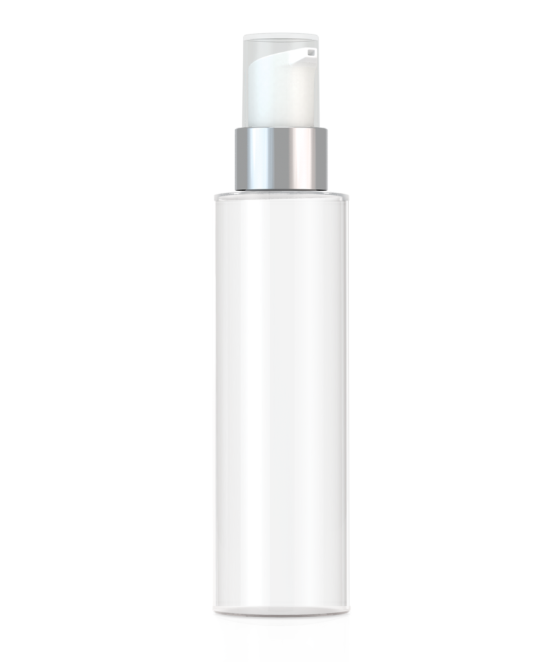 Private Label Packaging Glass Cylinder Bottle