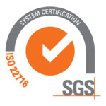 iso certification icon for cosmetic solutions private label skincare manufacturer