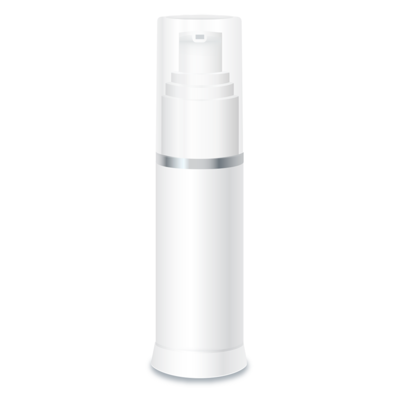 Private Label Packaging Paris White Airless Pump