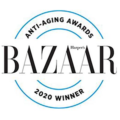 Anti-aging Awards Bazaar 2020 Winner Seal Image
