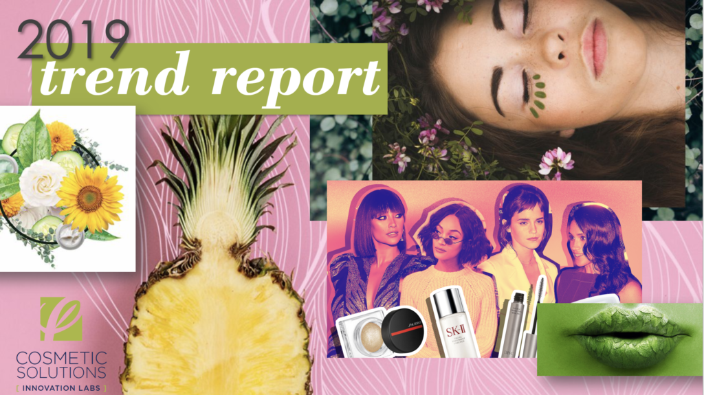 Image for Private Label Skincare Manufacturer Cosmetic Solutions Trend Report for 2019
