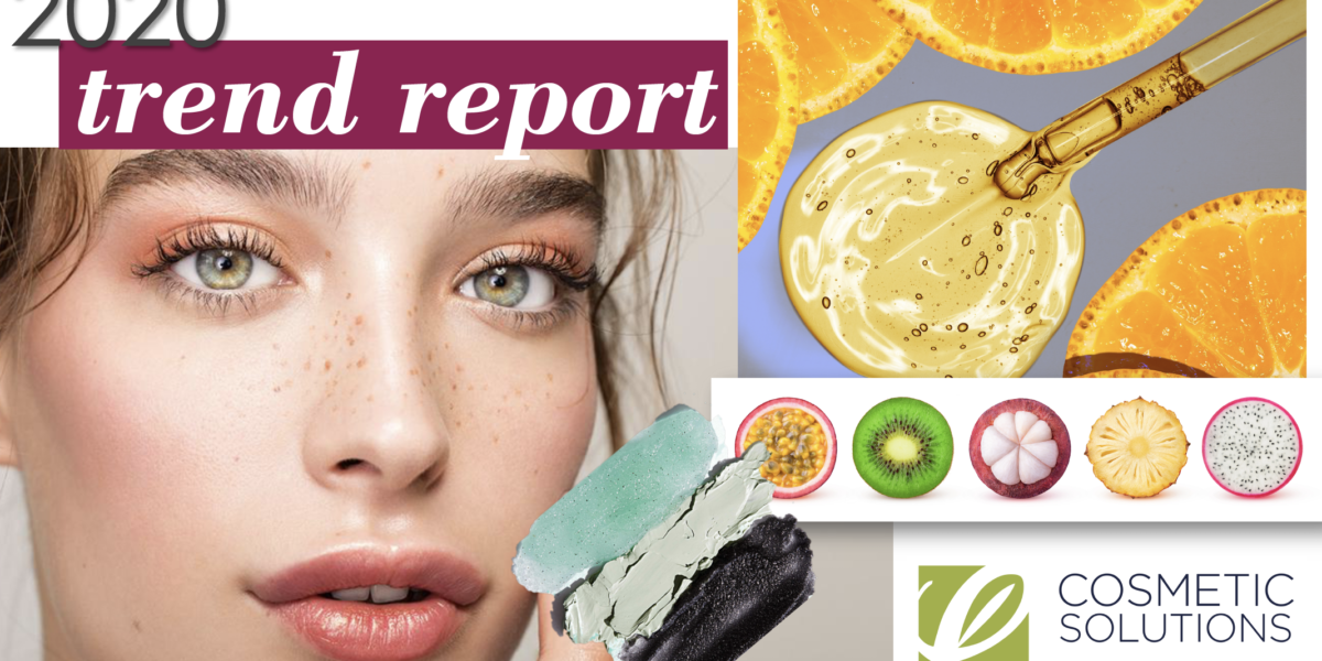 Image for Private Label Skincare Manufacturer Cosmetic Solutions Trend Report for 2020