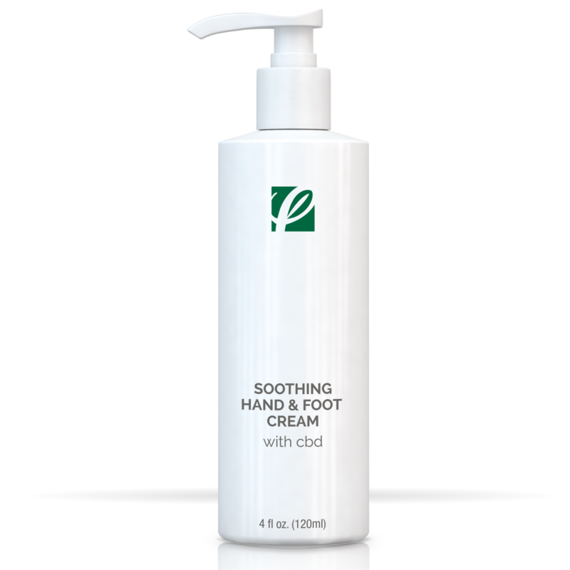 Private Label Soothing Hand And Foot Cream With CBD