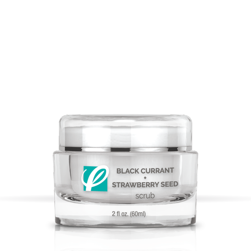 Private Label - Black Current And Strawberry Seed Scrub
